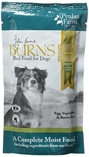 Burns Penlan voor huisdieren, ei/bruine rijst en groenten, 150 g, Pack of 12, kan variëren