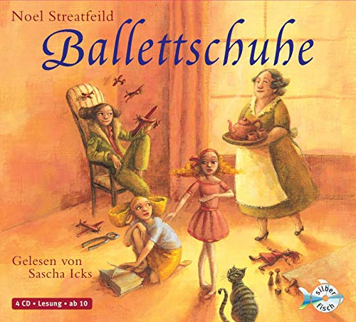 Ballettschuhe: 4 CDs