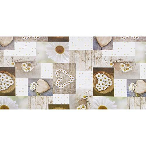 WohnDirect Küchenläufer für Innen und Außen bis 10m Länge • individuell zuschneidbar • Küchenläufer rutschfest & leicht abwaschbar • 50 x 170 cm