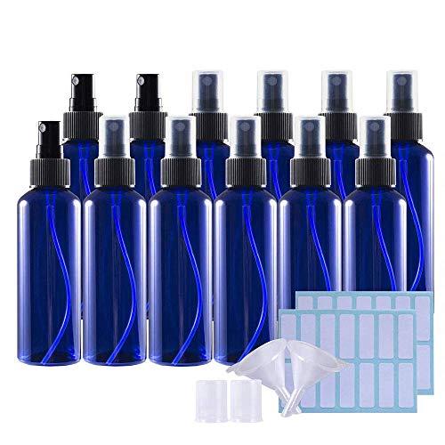 Schattierflasche, 100 ml, Sprühflasche, Unterteilungsflasche, Kunststoff, leer, 12 Stück