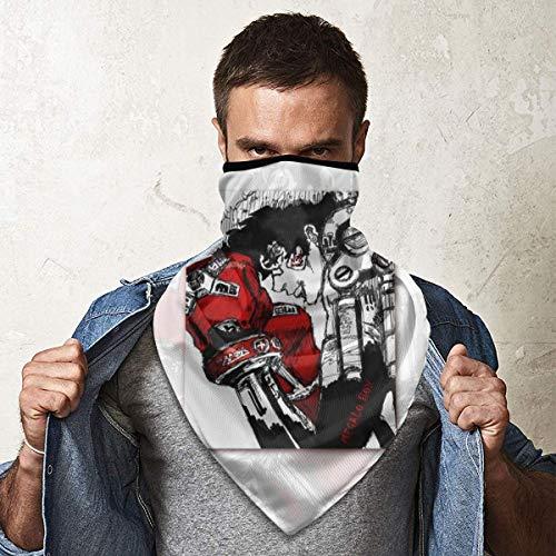 Angela R Mathews Anime Megalo Box Maske, Kopfbedeckung, multifunktionales Bandana für Schal, Kopfbedeckung, UV-Schutz, winddicht, Kopfband, Halstuch, Bandana