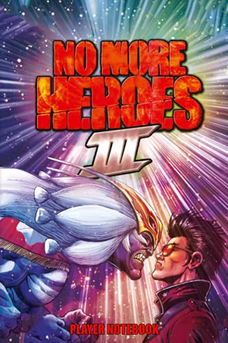 No More Heroes 3 Player NoteBook: Scorecard, Scorecard for Scoring Your Games No More Heroes 3   Gamer notebook that fills 100 pages with lines