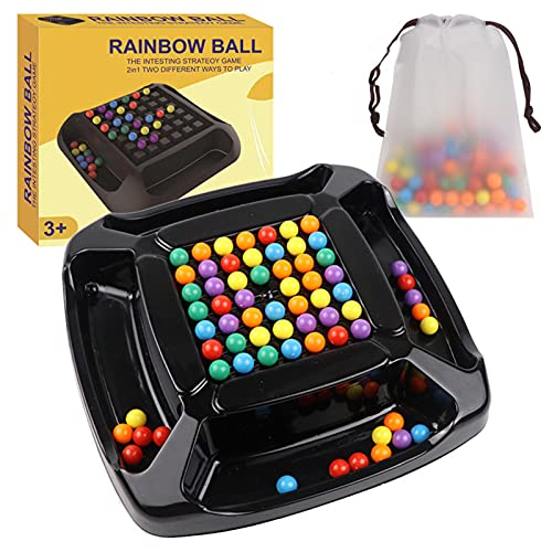 Chuanhao Rainbow Bead Elimination Toys Fun Children Early Educational Puzzle Toy Game Great Gifts for Boy Girl