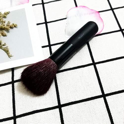 Multifonctionnel portable blush pinceau rouge pinceau voyage porter maquillage maquillage fondation pinceau miel poudre pinceau noir