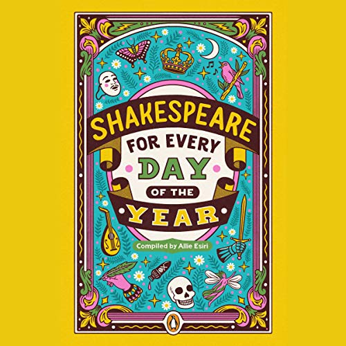Shakespeare for Every Day of the Year audiobook cover art