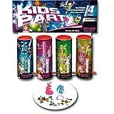 Weco Kids Party 4er Tischfeuerwerk Sortiment