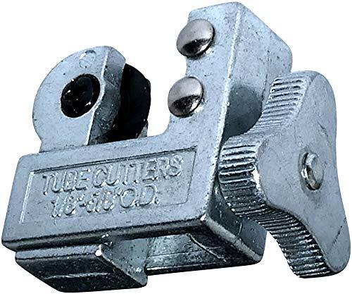 AERZETIX - Cortador de Tubo Rápido - Cortatubos Ajustable - Capacidad de Corte 3-16mm - Longitud 50mm - Herramientas para Cortar Cobre/Aluminio/Latón - Plomería/Calefacción/Sanitaria - C46172