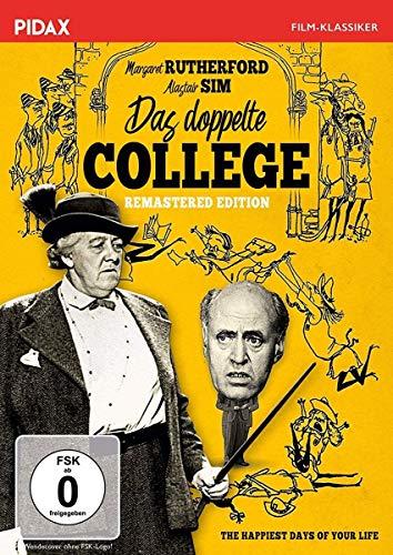 Das doppelte College / Großartige Komödie mit MISS MARPLE Margaret Rutherford (Pidax Film-Klassiker)
