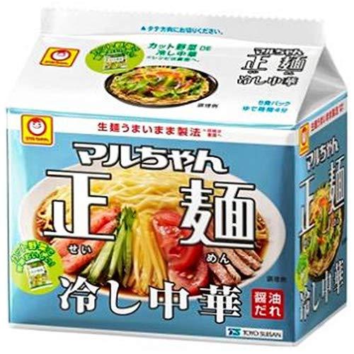 東洋水産 『マルちゃん正麺 冷し中華 5食パック』