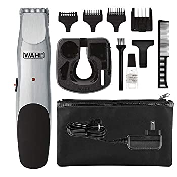 Wahl Groomsman Corded or Cordless Beard Trimmer for Men - Rechargeable Grooming Kit for Facial Hair - Hair Clipper Shaver & Groomer - Model 9918-6171