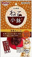 (まとめ買い)ペティオ ねこ小鉢 旨味キューブ おさかなMIX味 6袋入 猫用 【×15】