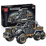 MBKE Technic Off Road modelo de coche, 3218 piezas Technic 6x6 Off Road SUV vehículo construcción set para Ford Raptor F150, bloques de construcción compatibles con Lego Technic