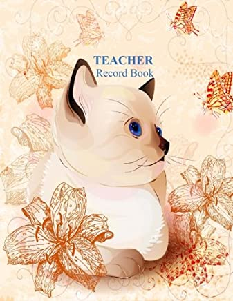 Teacher Record Book: Butterflies