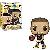 Funko Stephen Curry [Warriors]: NBA x POP! Sports Vinyl Figure & 1 POP! Compatible PET Plastic Graphical Protector Bundle [#043 / 34449 - B]