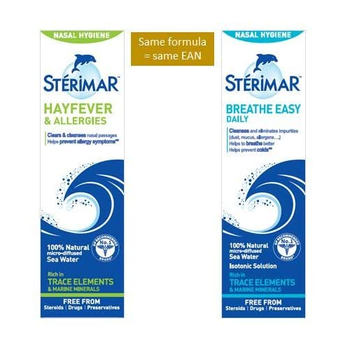 Sterimar Isotonic Nasal Hygiene Nasal Spray 100ml-PACK OF 3