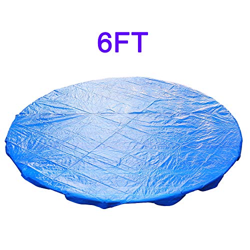 for Trampoline Replacement Spring Cover Padding Safety Net Rain Cover Skirt Panami Supplier for Outdoor Equipment - Trampoline Accessories is 6FT Rain Cover