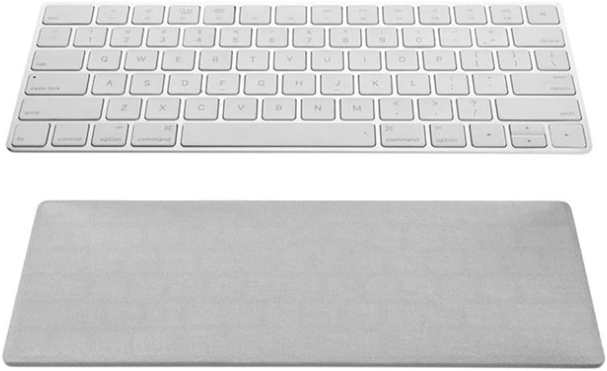 Shentesel Protective Dust-Proof Bag Cover Protector Case for Apple Magic Wireless Keyboard Grey