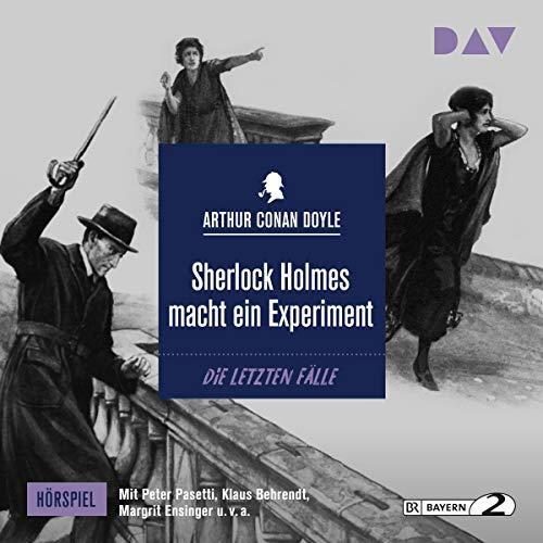 Sherlock Holmes macht ein Experiment Titelbild