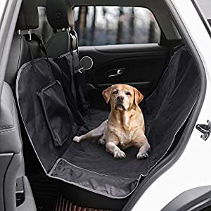 Dog Car Seat Cover,Waterproof Dog Back Seat Covers,Durable Scratch Proof Nonslip, Protector for Pet Back Seat Cover