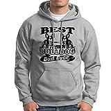 Beat French Bulldog Dad Ever Mens Sweatshirt, French Bulldog Women Hoodies Grey, XL