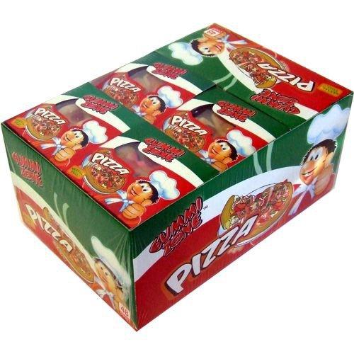 Gummi Zone Mini Pizza 48 x 15g einzeln verpackt (Schaumzucker & Fruchtgummi) Glutenfrei