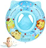 Anillo de natación de asiento de piscina para bebés Anillo de natación inflable Flotador de piscina para niños de 6 a 36 meses inflable para niños equipo de natación VS