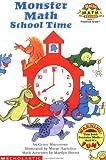Monster Math School Time (Hello Math Reader, Level 1)