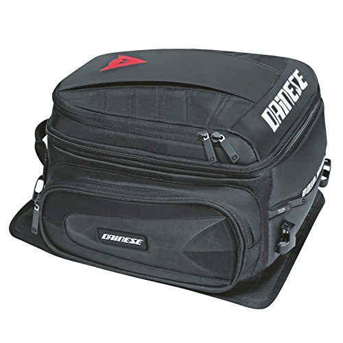 Dainese-D-TAIL MOTORCYCLE BAG, Stealth-Negro, Talla N