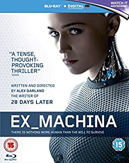 Ex Machina [Blu-ray] [2015] (B00S2LSA5G) | Amazon price tracker / tracking, Amazon price history charts, Amazon price watches, Amazon price drop alerts