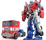 Venta superior 19.5 cm modelo de transformación robot coche acción juguetes plástico figura de acción juguetes mejor regalo para educación niños 7.5 pulgadas (color: NO.1)