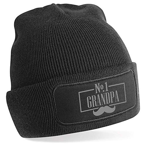 Design, Invent, Print! Grandpa Birthday Hat Gift Best Grandpa Beanie Hat...
