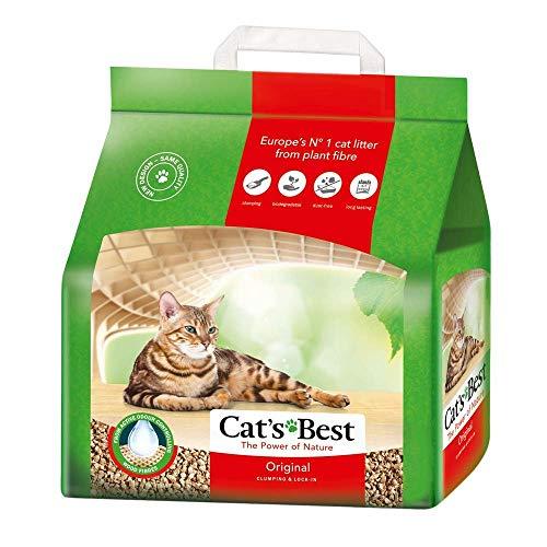 Cats Best Original pflanzliches Katzenstreu (4,3 kg) (mehrfarbig)