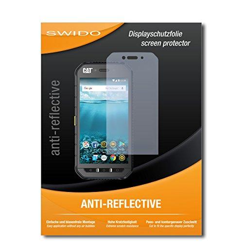 SWIDO Bildschirmschutz für Caterpillar Cat S41 [4 Stück] Anti-Reflex MATT Entspiegelnd, Hoher Härtegrad, Schutz vor Kratzer/Glasfolie, Schutzfolie, Bildschirmschutzfolie, Panzerglas Folie