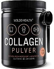 Collagène poudre de bœuf Protéine Gelatine – 500g Collagen Hydrolysat Peptides Type I et type II Complement Alimentaire