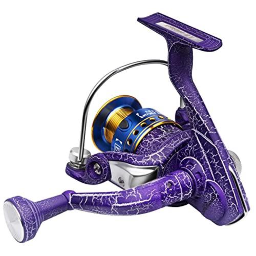 x-speed Carrete De Pesca Rueda Giratoria De 11 Ejes Carrete De Pesca De Mar Carrete De Pesca Caña De Pescar De Mar Carrete De Pesca (Color : Purple, Size : 4000)
