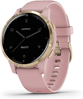 Garmin 010-02172-31 Vivoactive 4S, Smaller-Sized GPS Smartwatch, Features Music, Body Energy...