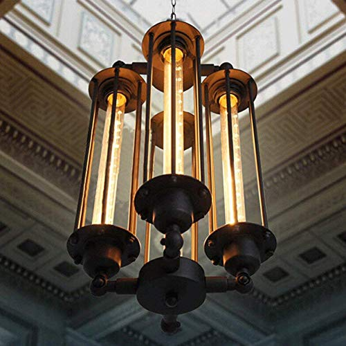 MINGSHOP Chandelier Ceiling Lamp Ceiling Light Industrial...