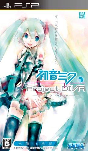 初音ミク -プロジェクト ディーヴァ- お買い得版(通常版) - PSP