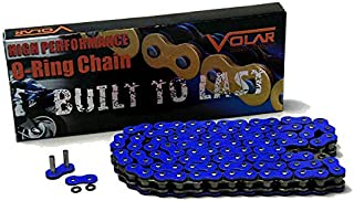 Volar O-Ring Motorcycle Chain – Blue for 530 x 120 Links