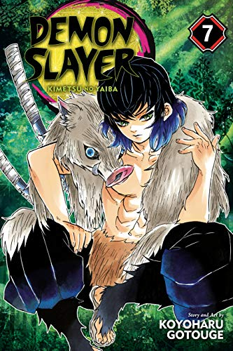 Demon Slayer: Kimetsu no Yaiba, Vol. 7: Trading Blows At Close Quarters (English Edition)