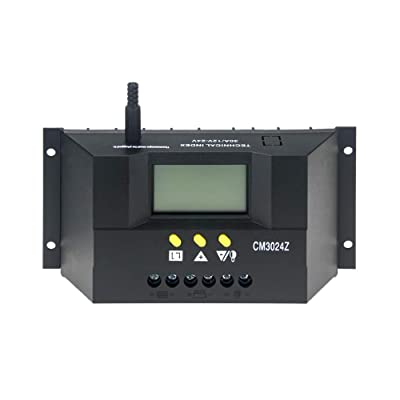Daxieworld Solar Charge Controller 30 Amp Solar...