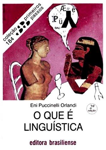 O que é linguística (Primeiros Passos)