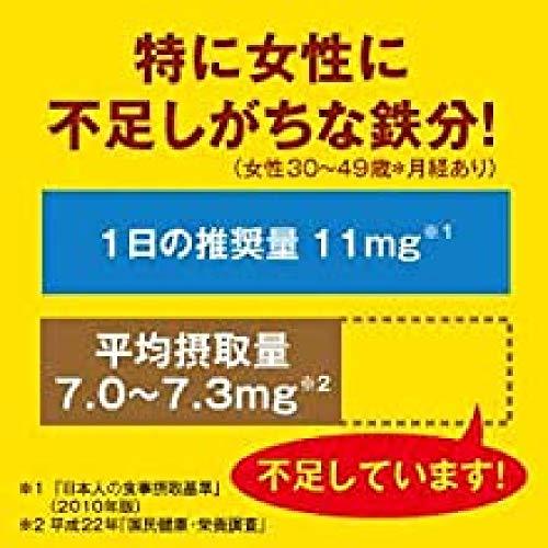 『大塚製薬 ネイチャーメイド 鉄(アイアン) 80粒 40日分』の3枚目の画像