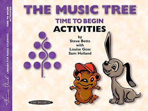 The Music Tree Time to Begin Activities (Frances Clark Library for Piano Students)
