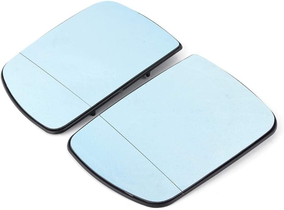 Popular brand in the world Rearview Mirror Lens 1 Pair Car Save money Reversing Heated Universal