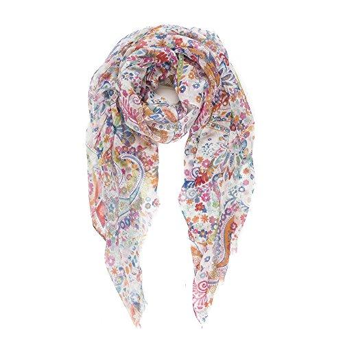 Leichter Schal für Frauen für Herbst,Winter als Kopftuch, Schal oder Wickeltuch