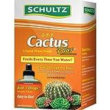 Schultz Cactus Plus 2-7-7 liquid Plant Food, 4-Ounce