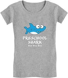 Preschool Shark Doo Doo Back to School Funny Infant Girls' Fitted T-Shirt