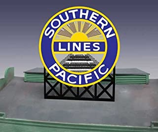 7071 Large Model Southern Pacific RR Animated & Lighted Billboard by Miller Signs