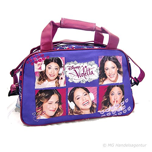 Disney Violetta–Music Mix Fitnessstudio Tasche, 40x 24x 16cm